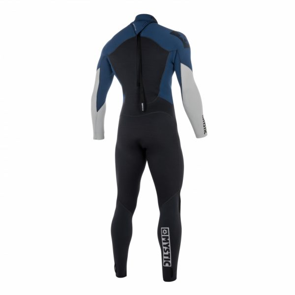 Mystic Star wetsuit navy rear