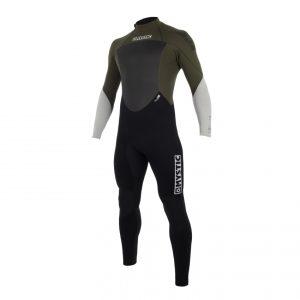 Mystic Star wetsuit dark olive